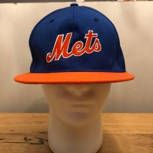 Vintage New York Mets 80s Logo SnapBack Hat